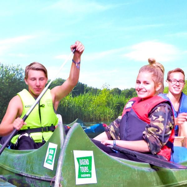 Abenteuercamps - Kanutour Mecklenburg