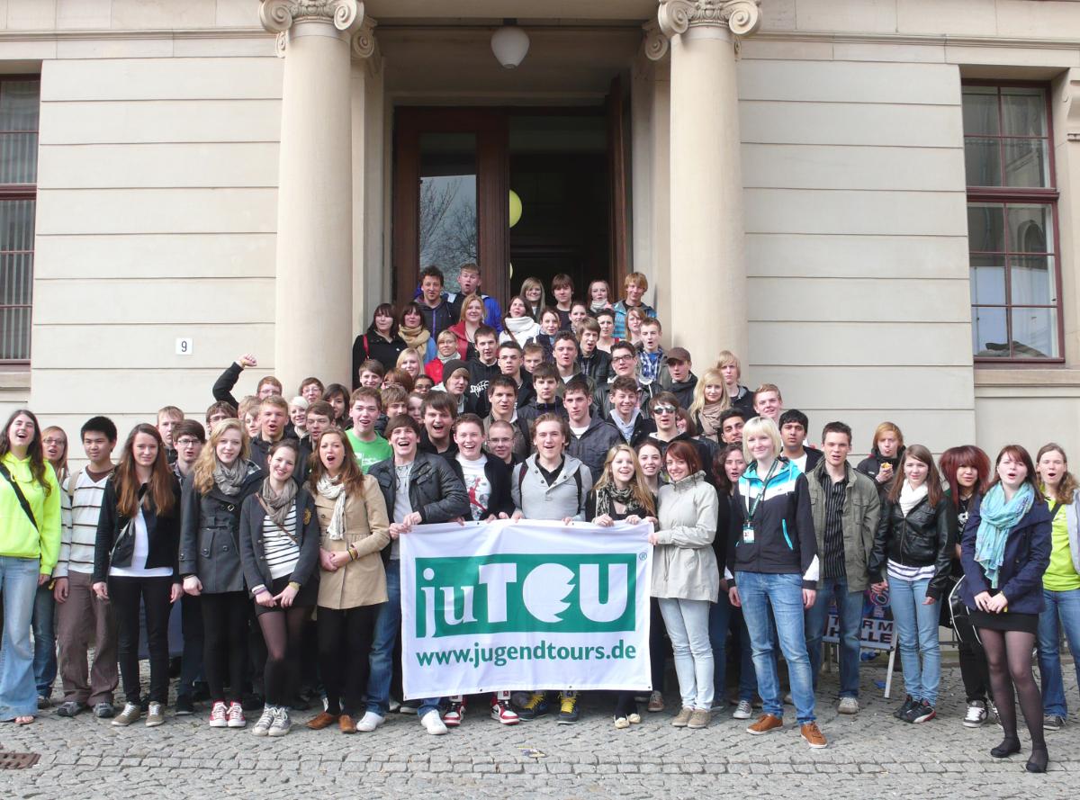 Campus Day der Martin-Luther-Universität Halle-Wittenberg in Zusammenarbeit mit Jugendtours