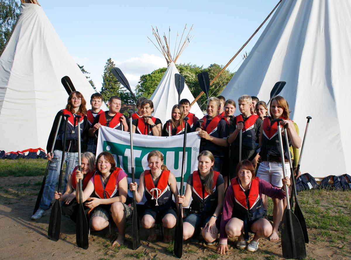 Jugendtours und Kindersender Nick prämieren Gewinnerklasse - Klasse 8a aus Großenhain