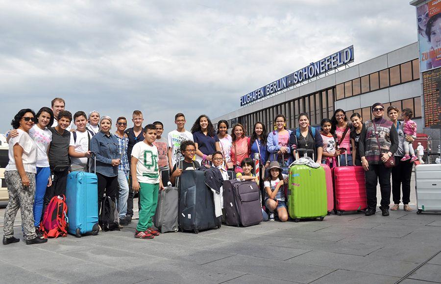 Jugendtours begrüßt Schulklasse aus Ägypten