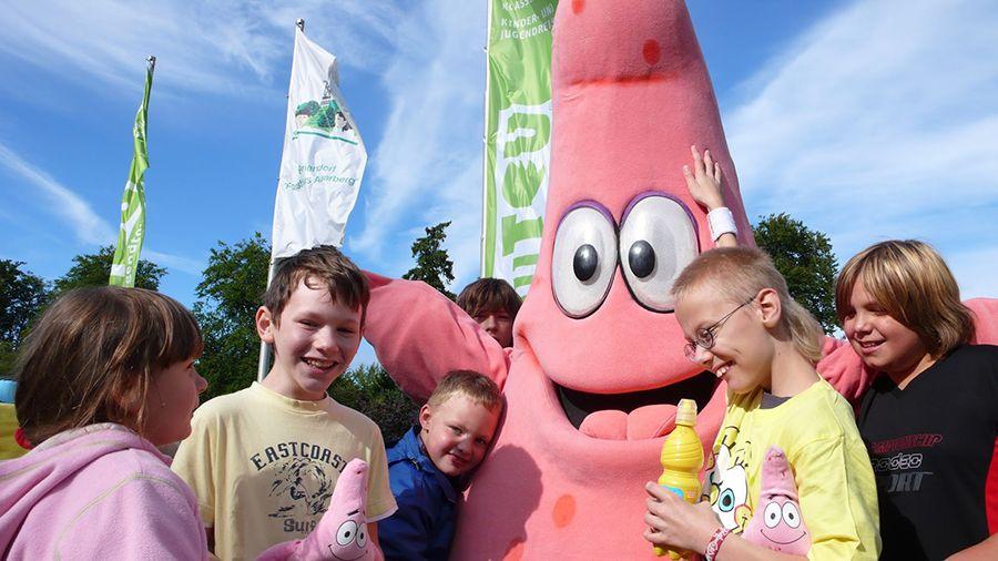 Patrick auf dem SpongeBob-Camp von Jugendtours und NICK.tv