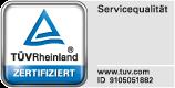 Qualitätssiegel - TÜV-geprüfte Kinder- und Jugendreisen - Zertifikat des TÜV-Rheinland für beste Servicequalität bei Klassenfahrten