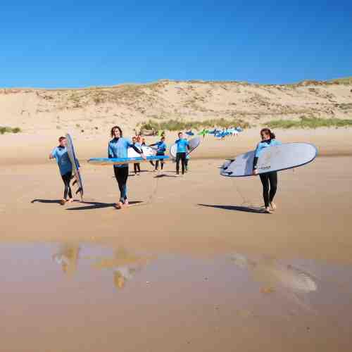 Surfkurs mit Surflehrern