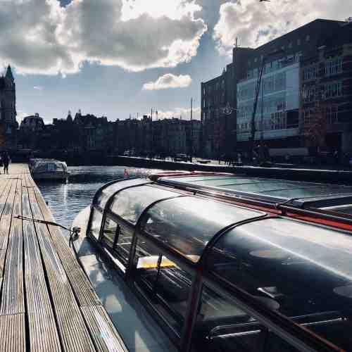 Grachtenrundfahrt durch Amsterdam