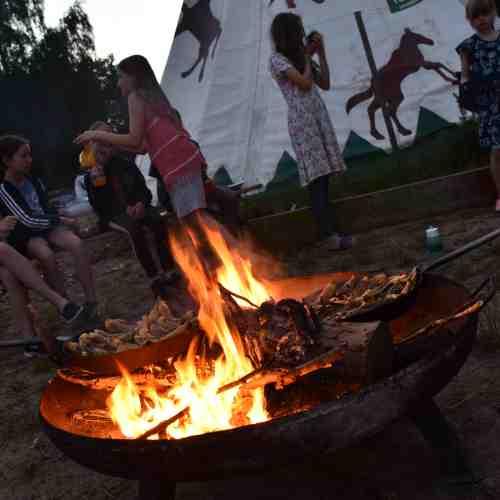 Deine Kanureise - Chaos Spiel und Abschlussabend mit Lagerfeuer