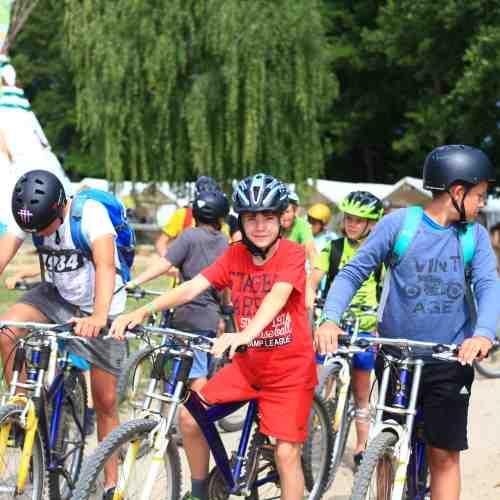 Angelcamp - Mountainbiketour in die Umgebung