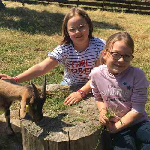 Besuch auf dem Erlebnisbauernhof - Bauer Lange