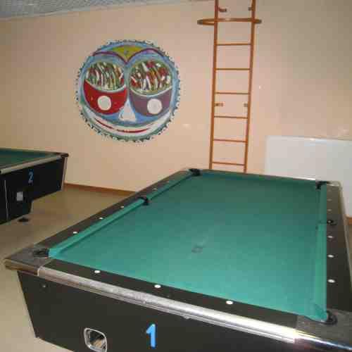 Nutzung Tischtennis-, Billard- und Fitnessraums sowie Hallenbad und Sauna