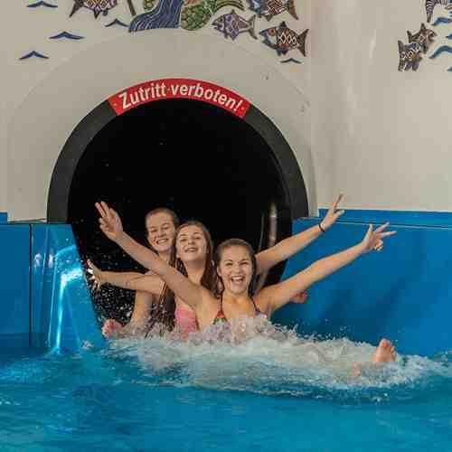 Ausflug in den Badepark Inzell mit Wasserrutsche