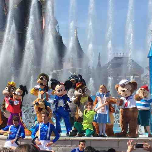 Tageskarte für Disneyland Park oder Walt Disney Studios Park