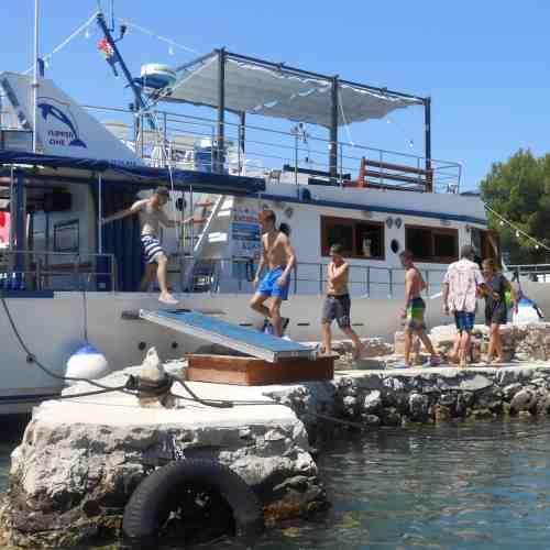 Bootstour Nationalpark Kornati