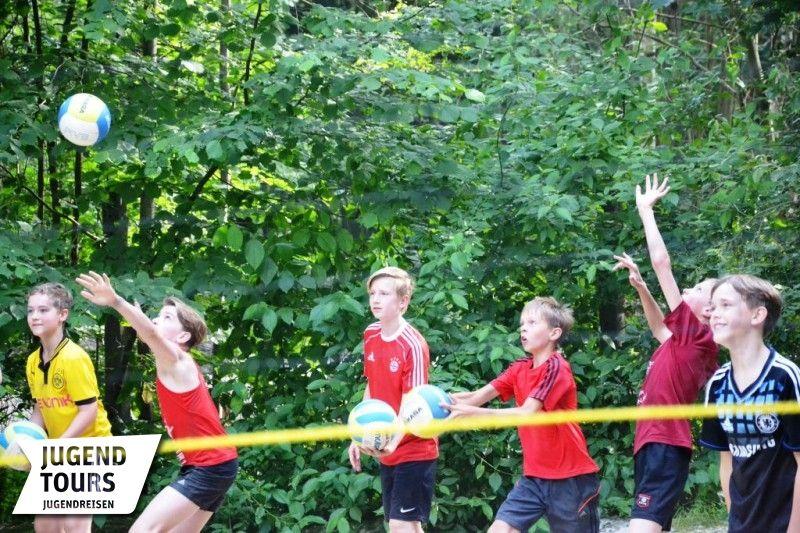 Bilder Volleyball- und Beachvolleyballcamp
