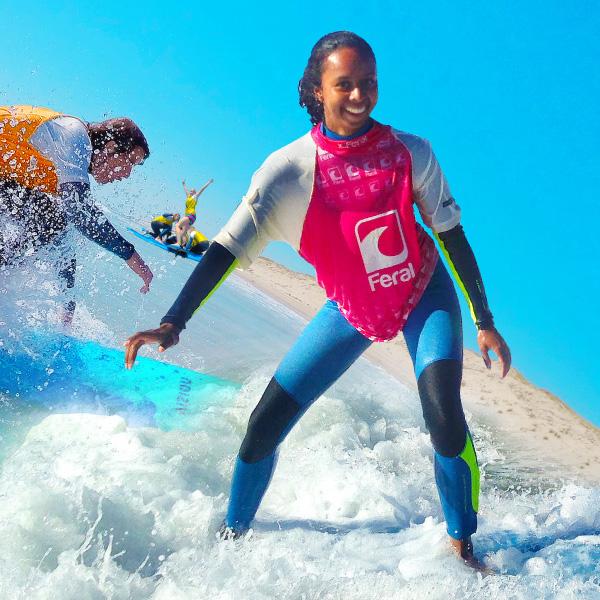 Jugendreise nach Atlantik Surfcamp