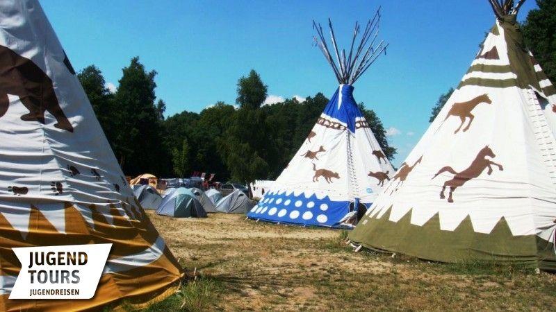 Unterkunftsbilder Indianercamp Mecklenburg