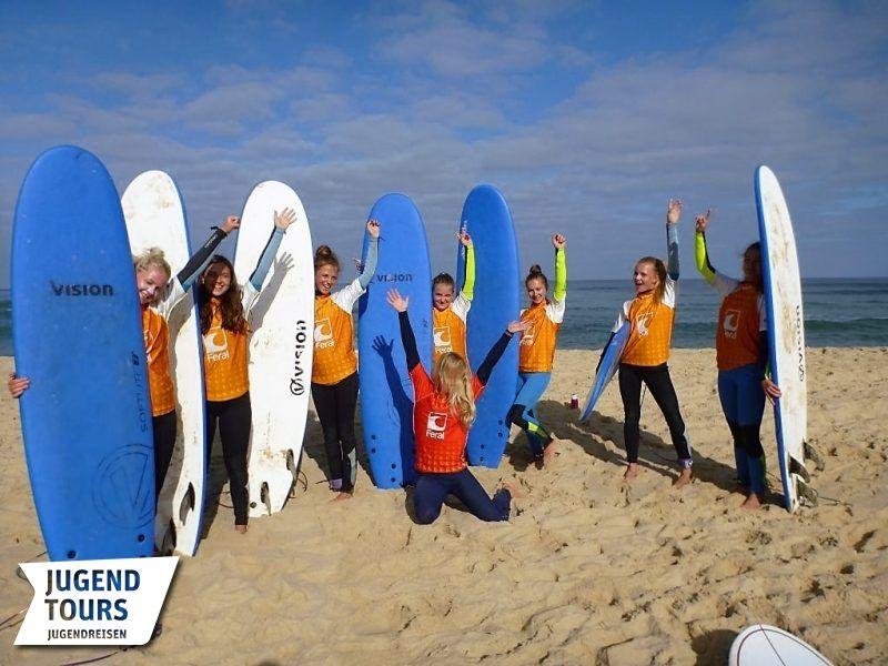 Bilder Atlantik Surfcamp